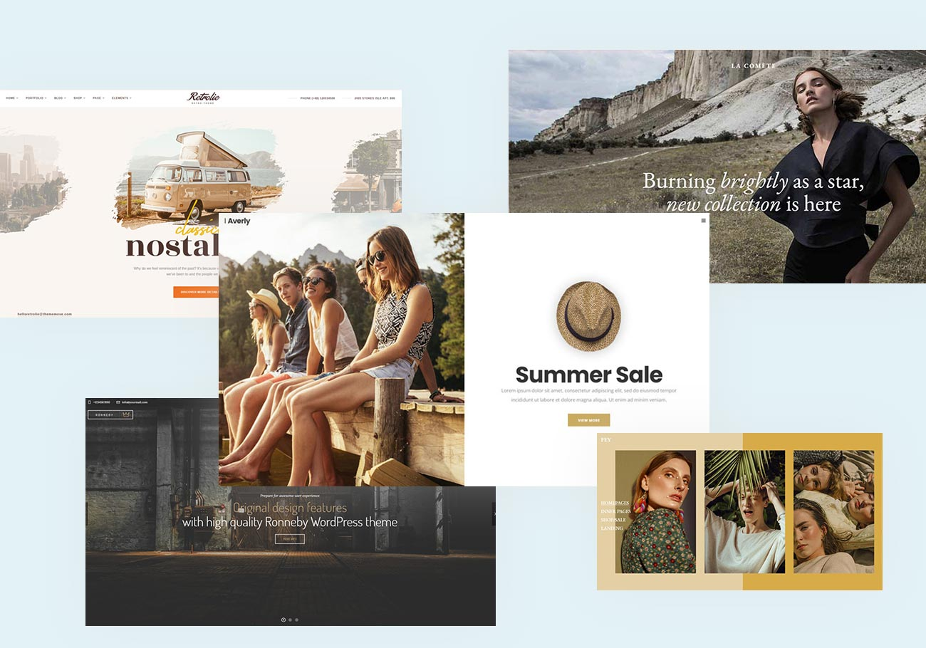Eye-Catching Vintage WordPress Themes to Look At