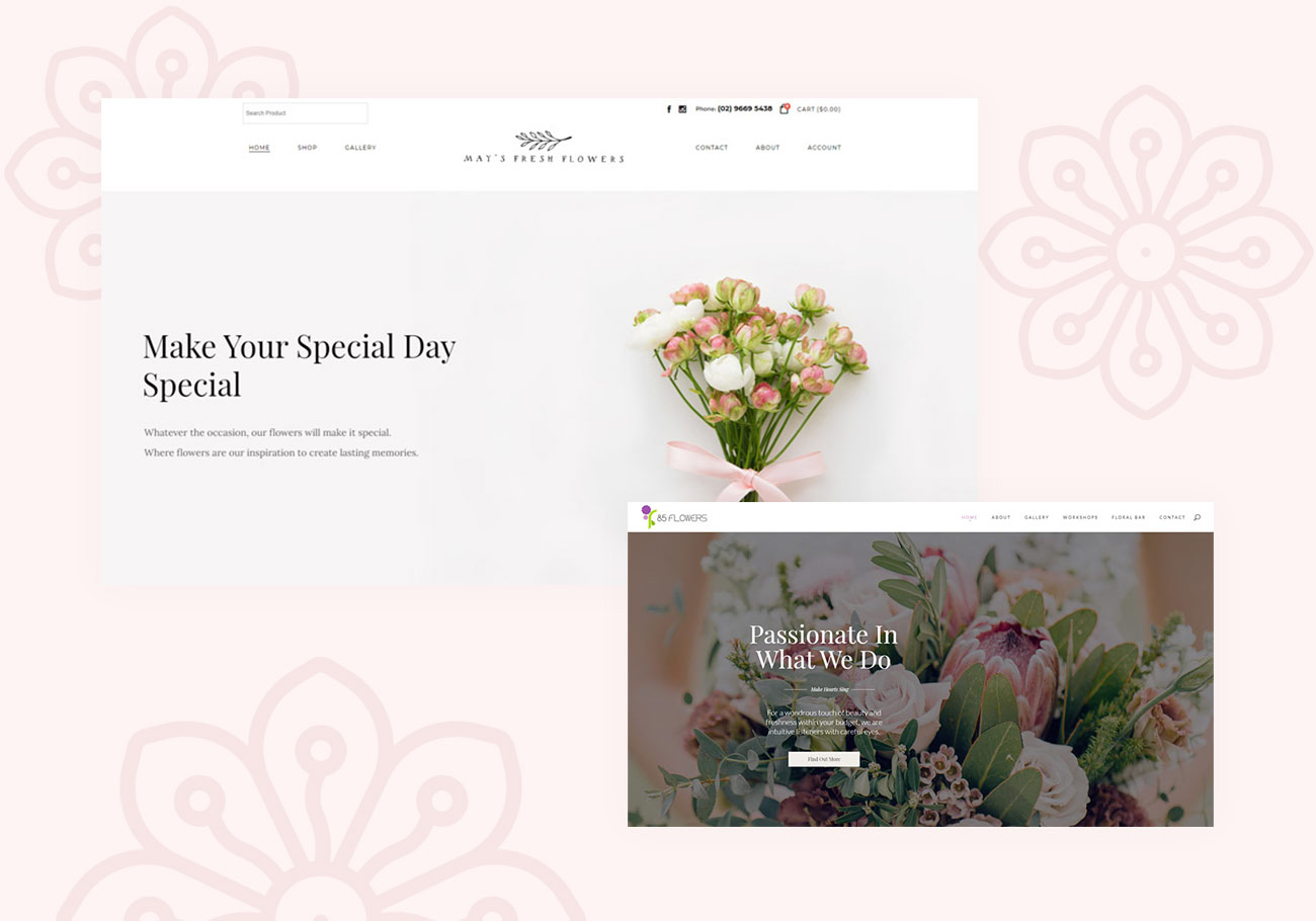 Florist Websites That Will Inspire Every Flower Lover