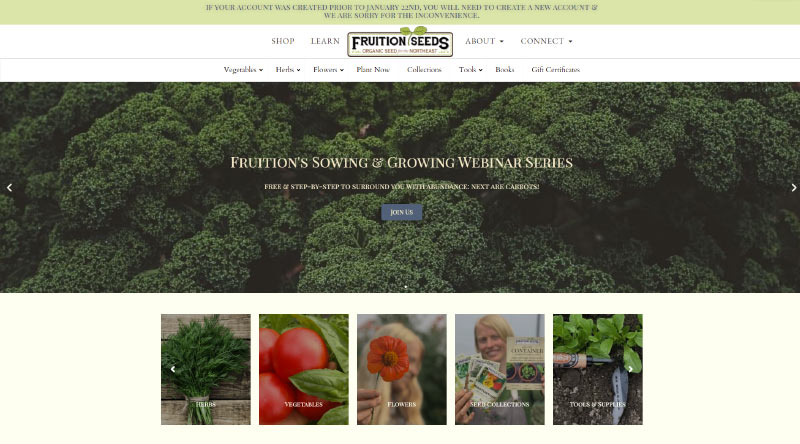 Frution Seeds