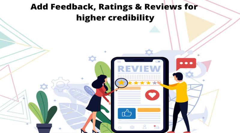 Feedback, beoordelingen en recensies implementeren om het aantal aanmeldingen voor cursussen te vergroten