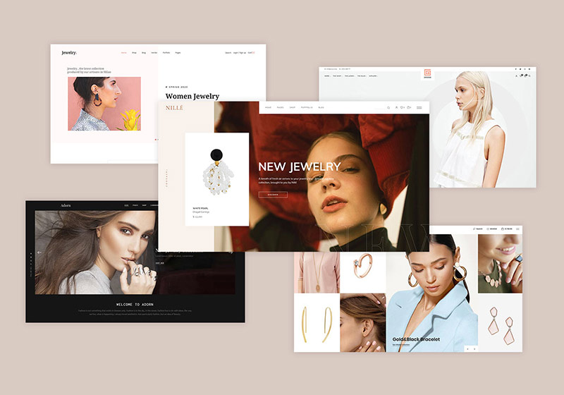 Top Jewelry Shop Themes
