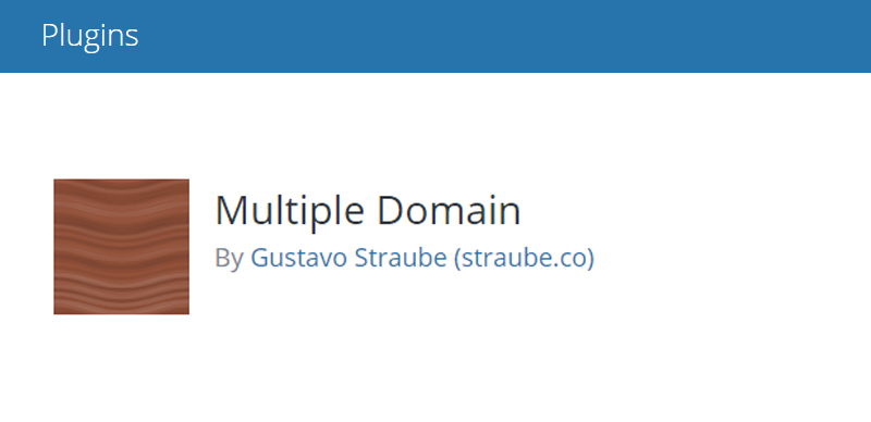 Multiple Domain