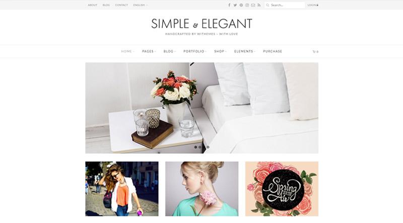 Simple & Elegant WP Theme