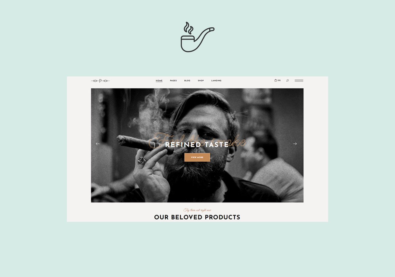 Smoking Hot Tobacco WordPress Themes