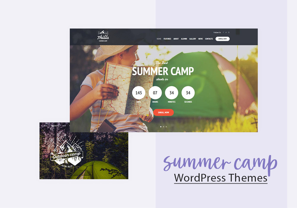 Summer Camp WordPress Themes for Unforgettable Adventures