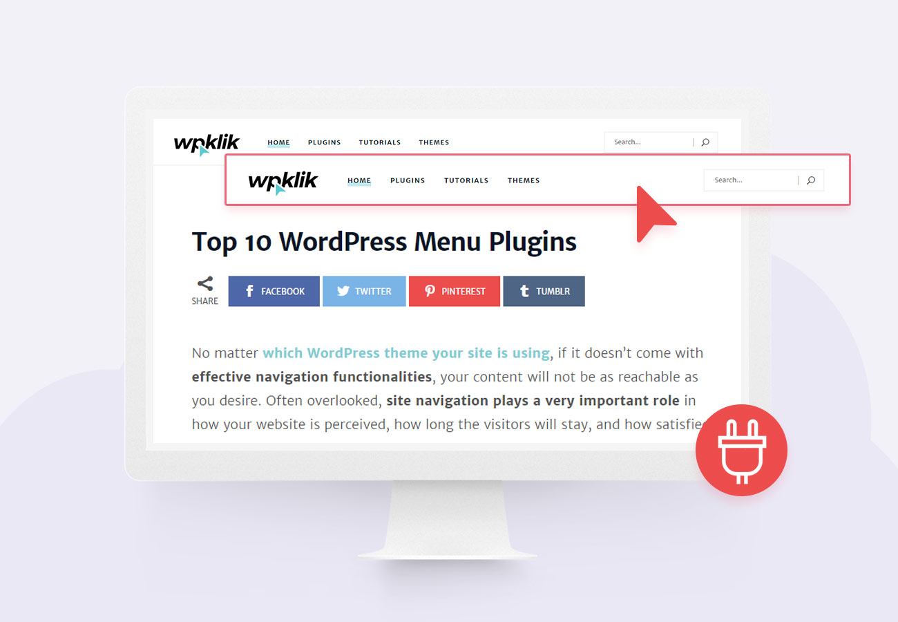 Top 10 WordPress Menu Plugins