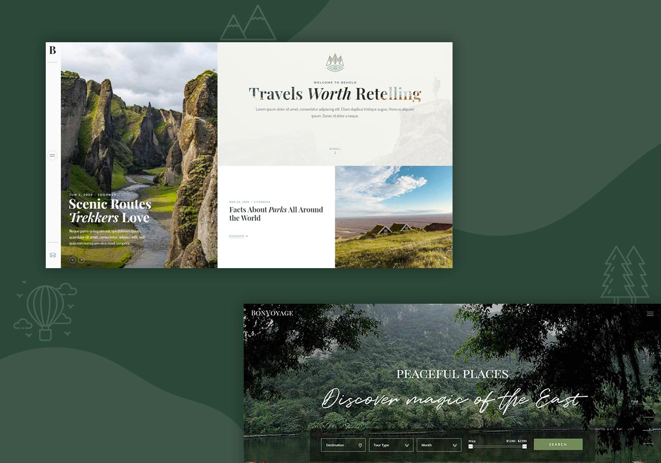 Adventure WordPress Themes