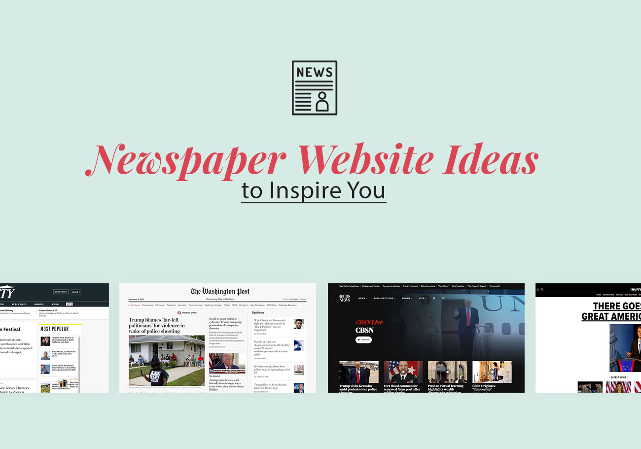 Captivating Newspaper Websites Design You'll Love