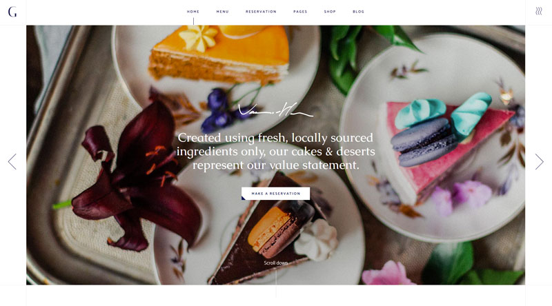 Gaspard Luxury WordPress Theme