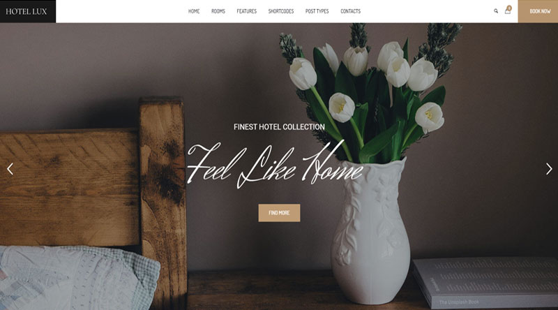Hotel Lux WordPress Theme