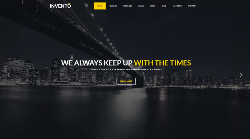 Invento WordPress Theme