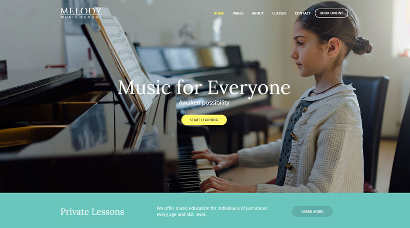 Melody WP Theme