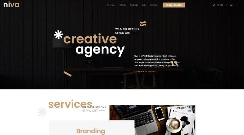 Niva WordPress Theme