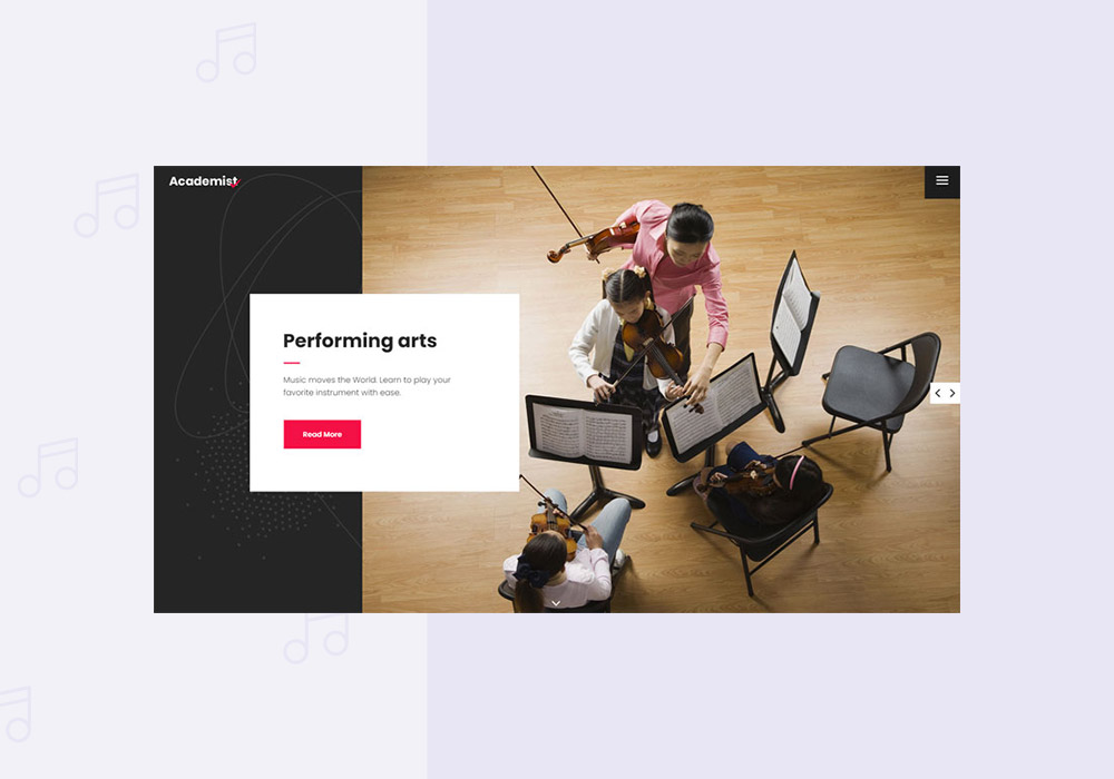 Top Music School WordPress Themes