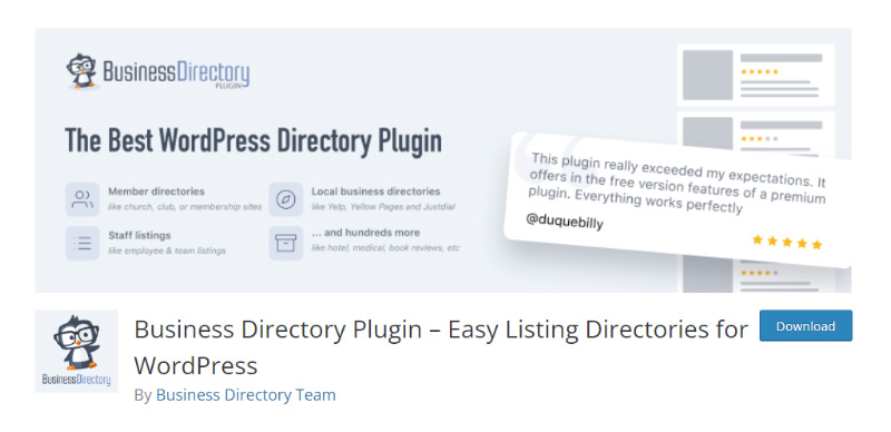 Business Directory Plugin – Directories for WordPress