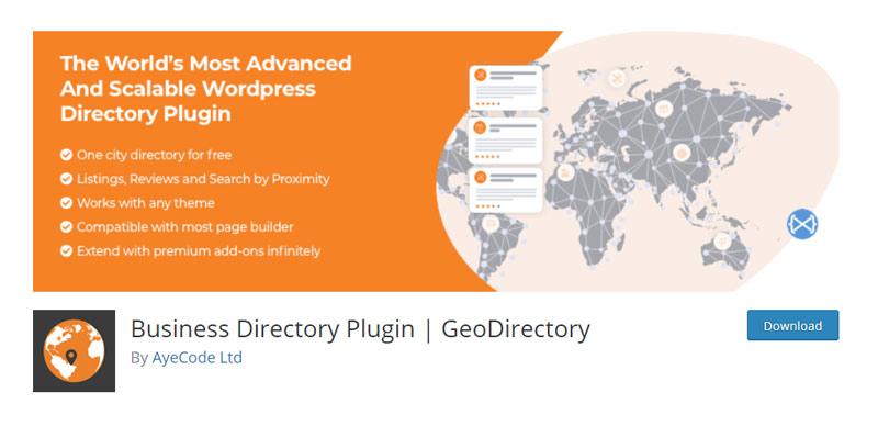 GeoDirectory Plugin