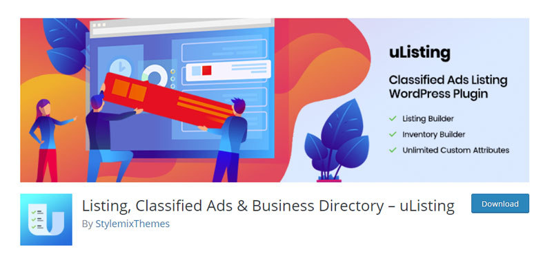 Listing, Classified Ads & Business Directory