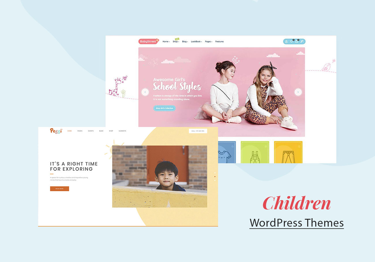 Most Inspiring Children WordPress Themes