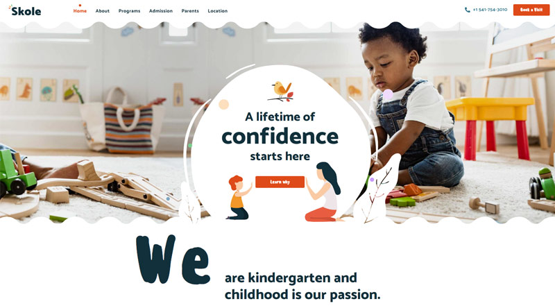 Skole WordPress Theme