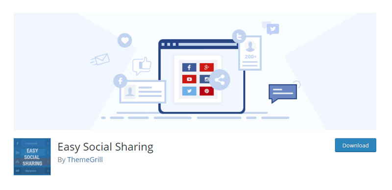Easy Social Sharing plugin