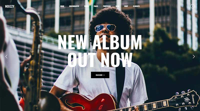 Noizzy WordPress Theme