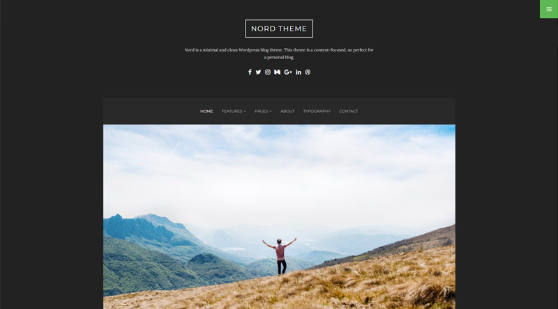 Nord WordPress Theme