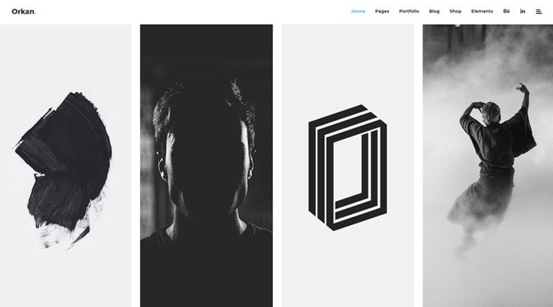 Orkan Photo Gallery WP theme