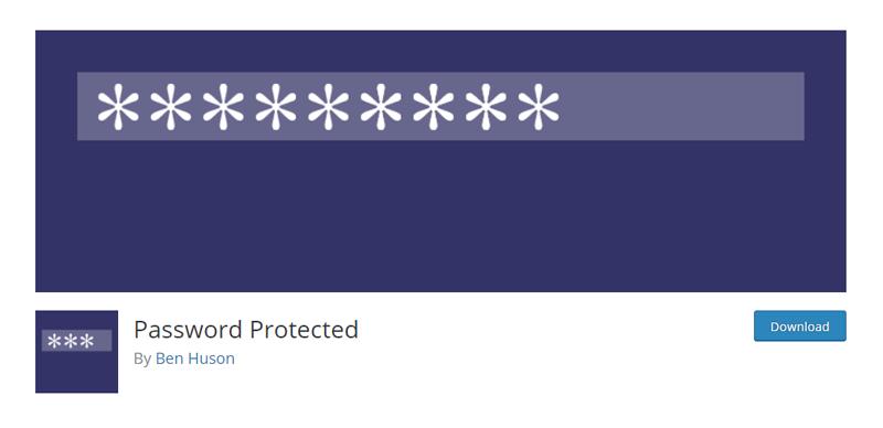 Password Protected Plugin