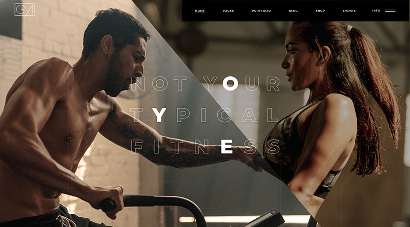 Powerlift WordPress Theme