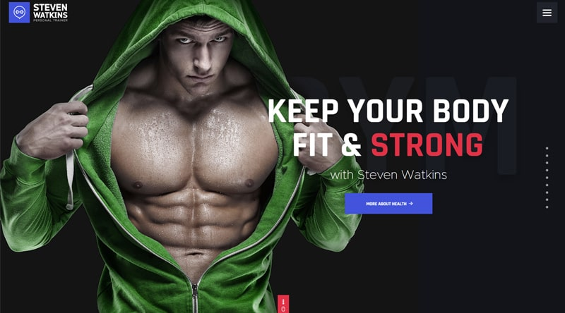 Steven Watkins personal trainer websites