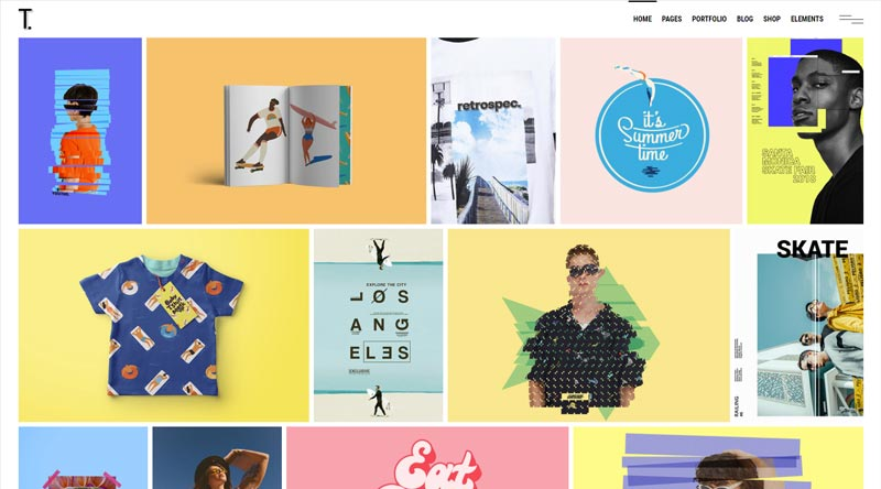 Tahoe WordPress Theme