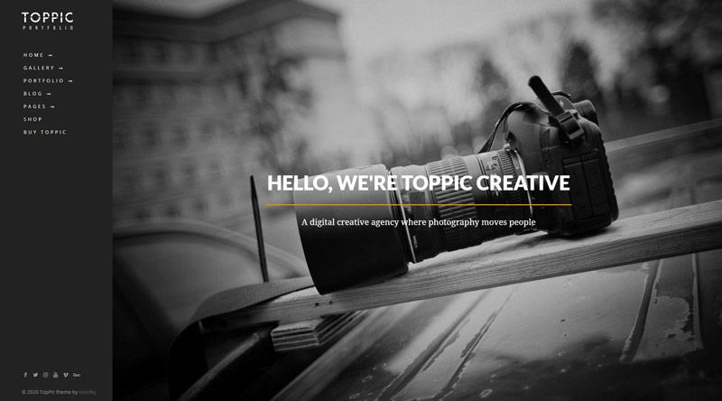 TopPic WordPress Theme