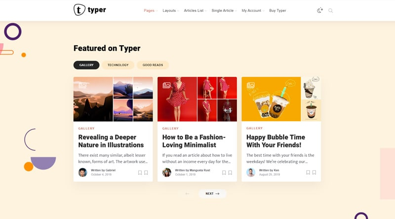 5+ WordPress Themes for Authors & Writers 1