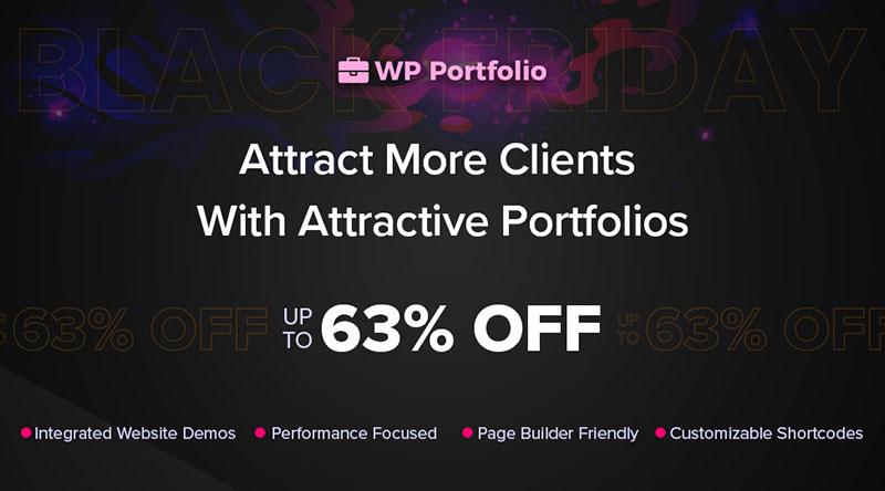 WP Portfolio discount