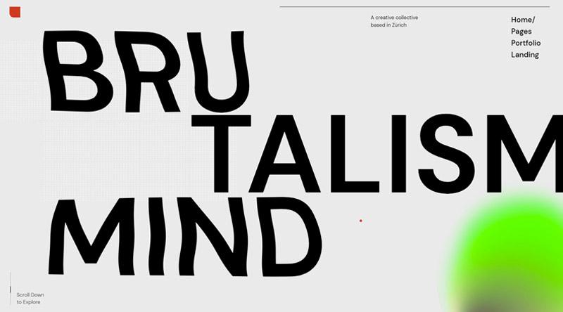 Zermatt typography WordPress theme