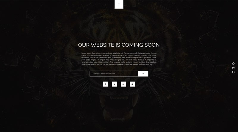 Gravity Coming Soon WordPress Themes