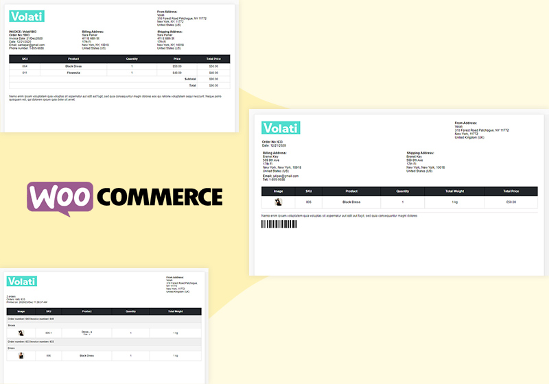 How to Create WooCommerce Invoices and All Related Documents