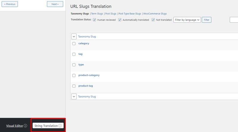 String Translation