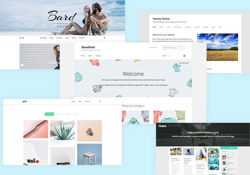 5 Best Free Multi-Concept WordPress Themes for Every Business