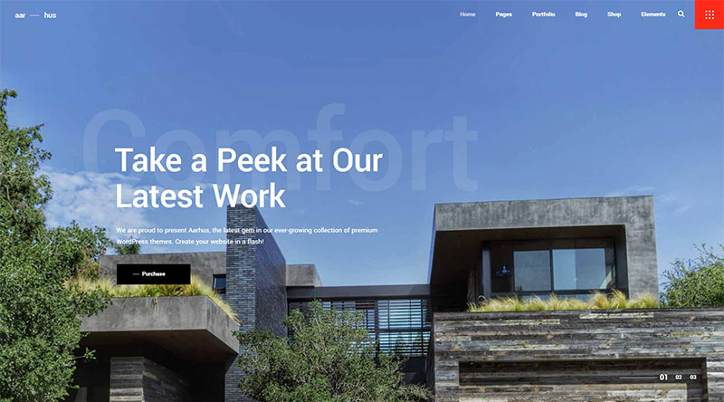 Aarhus WordPress Theme