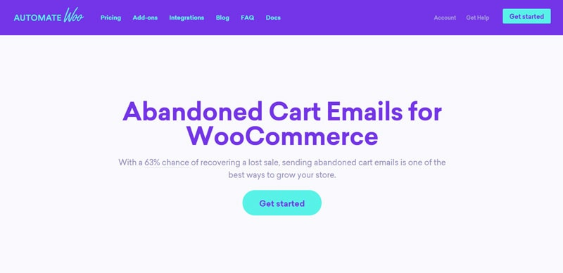 Abandoned Cart Emails for WooCommerce