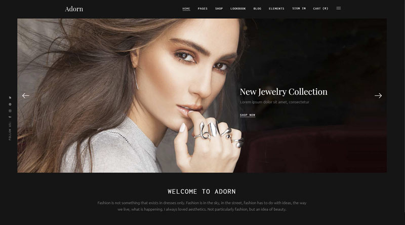 Adorn WordPress Theme