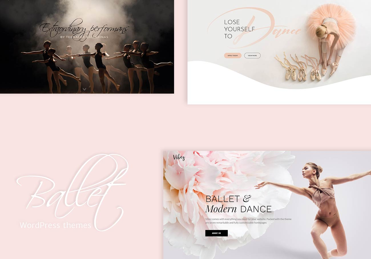 Ballet School WordPress Themes