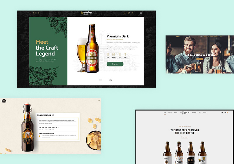 Brewery WordPress Themes for Beer Lovers