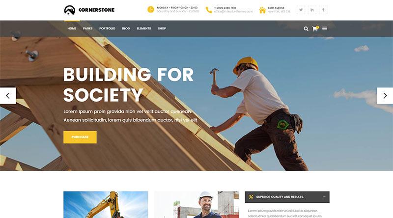 Cornerstone WordPress Theme