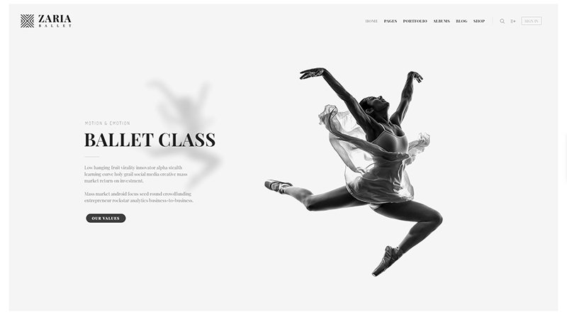 FatMoon WordPress Theme