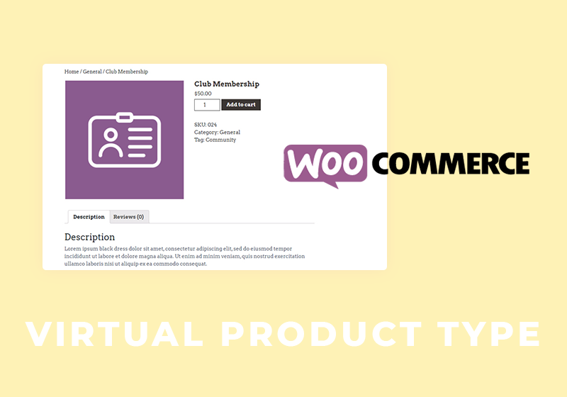 How to Create a WooCommerce Virtual Product