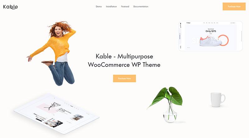 Kable WordPress Theme