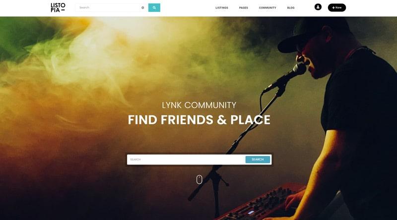 Listopia WordPress Theme