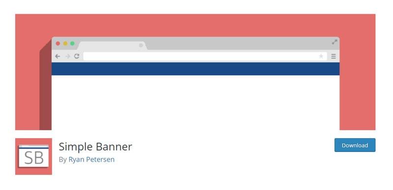 Simple Banner plugin
